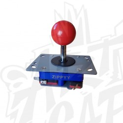 joystick zippy tige courte rouge