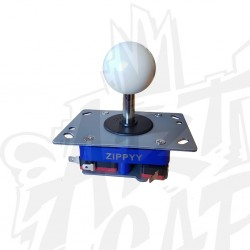 joystick zippy tige courte blanc