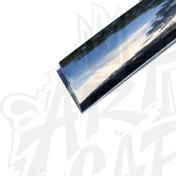 T-molding 19mm chrome