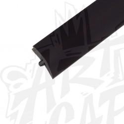 T-molding 19mm noir