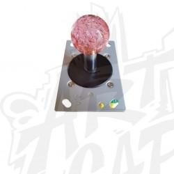 Joystick lumineux rose
