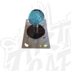 Joystick lumineux bleu