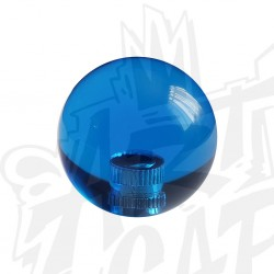 Poignée KORI transparente Bleu