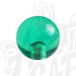 Poignée KORI transparente vert
