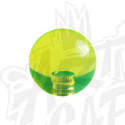 Poignée KORI transparente jaune