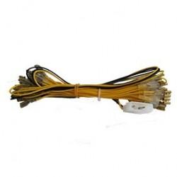 Cable d'amentation pour boutons lumineux équipé molex