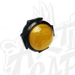 Bouton 63mm dôme jaune