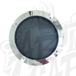 Grille 120mm chrome
