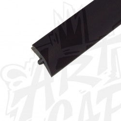 T-molding 16mm noir