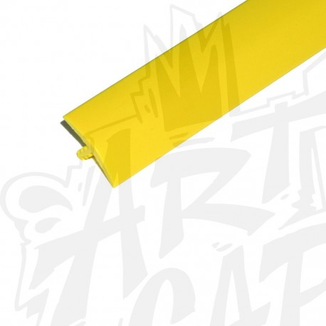 T-molding 19mm jaune