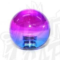 Boule bicolore violet/bleu