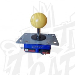 joystick zippy tige courte jaune
