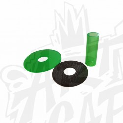 shaft cover SANWA JLF-CD-CY transparent vert