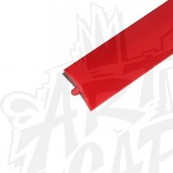 T-molding 19mm rouge