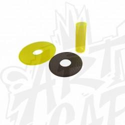 shaft cover SANWA JLF-CD-CY transparent jaune